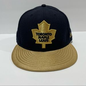 New Era Toronto Maple Leafs NHL Fitted Cap 7 3/8